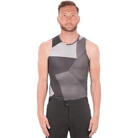 Cube Baselayer Mesh Shirt Heren, grey camo